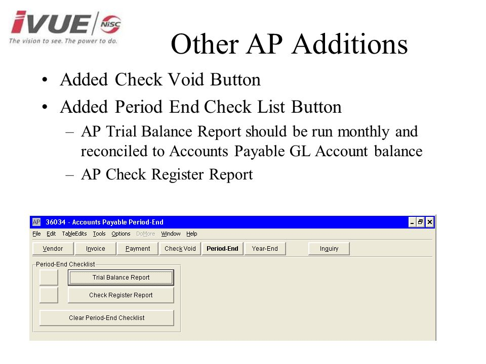 1 6 AP Enhancements AP Journals now summarized on GL Accounts New
