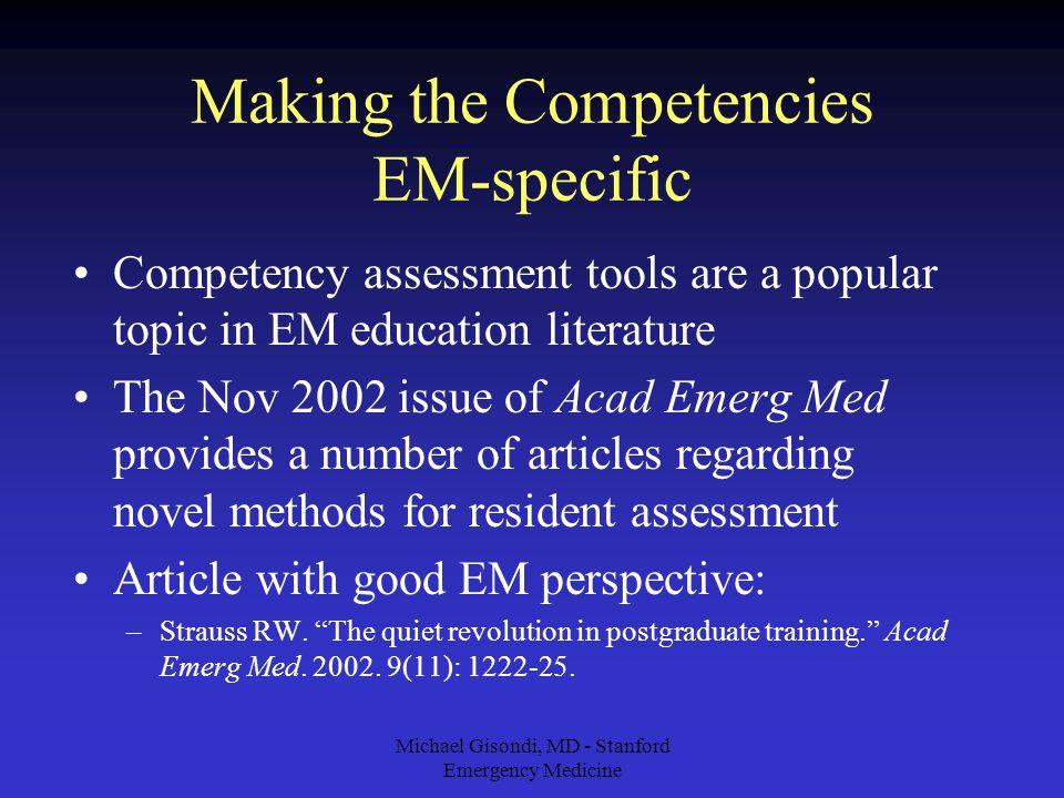 Improving ED Bedside Teaching & Resident Evaluation Stanford