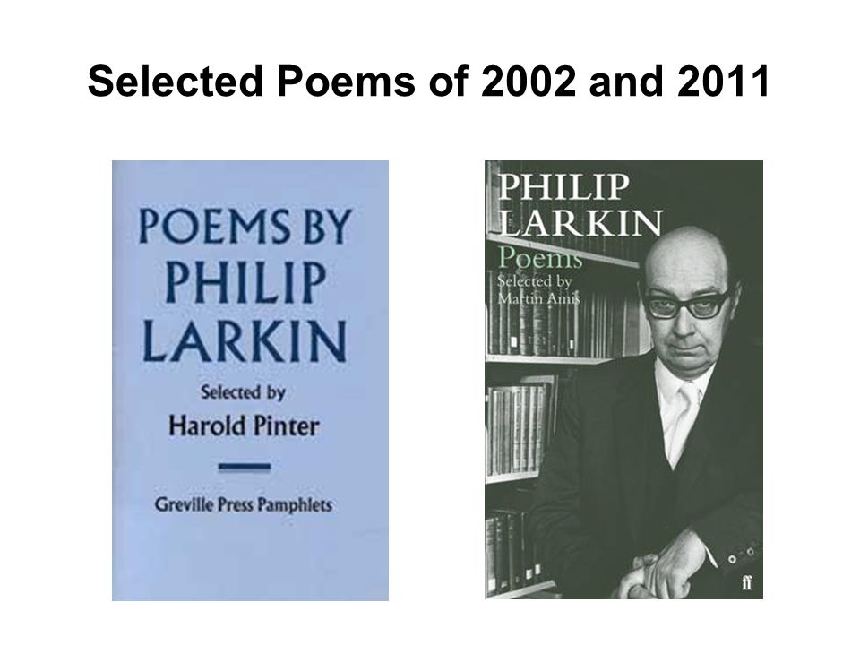 Selected Poems of 2002 and 2011