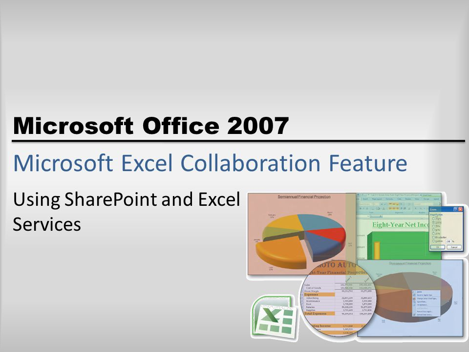 Microsoft Office 2007 Microsoft Excel Collaboration Feature Using SharePoint and Excel Services