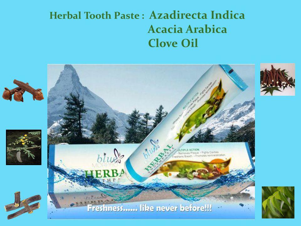 Herbal Tooth Paste Azadirecta Indica Acacia Arabica Clove Oil