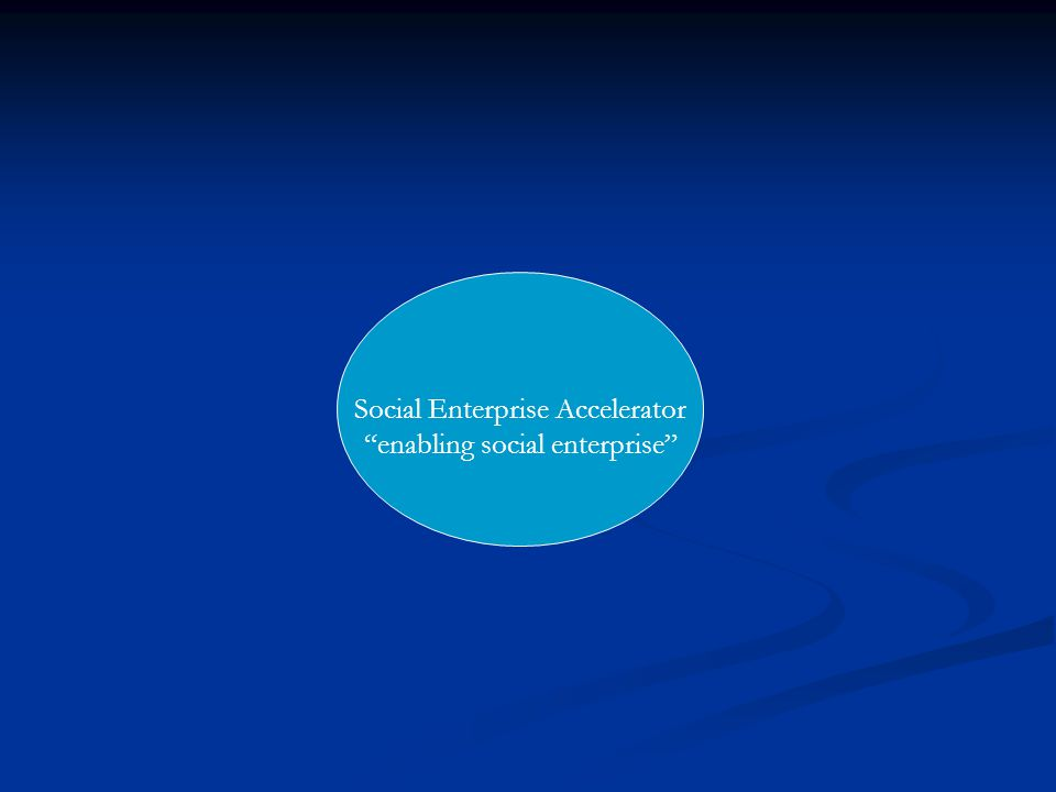 Social Enterprise in the Health and Social Care Sector In