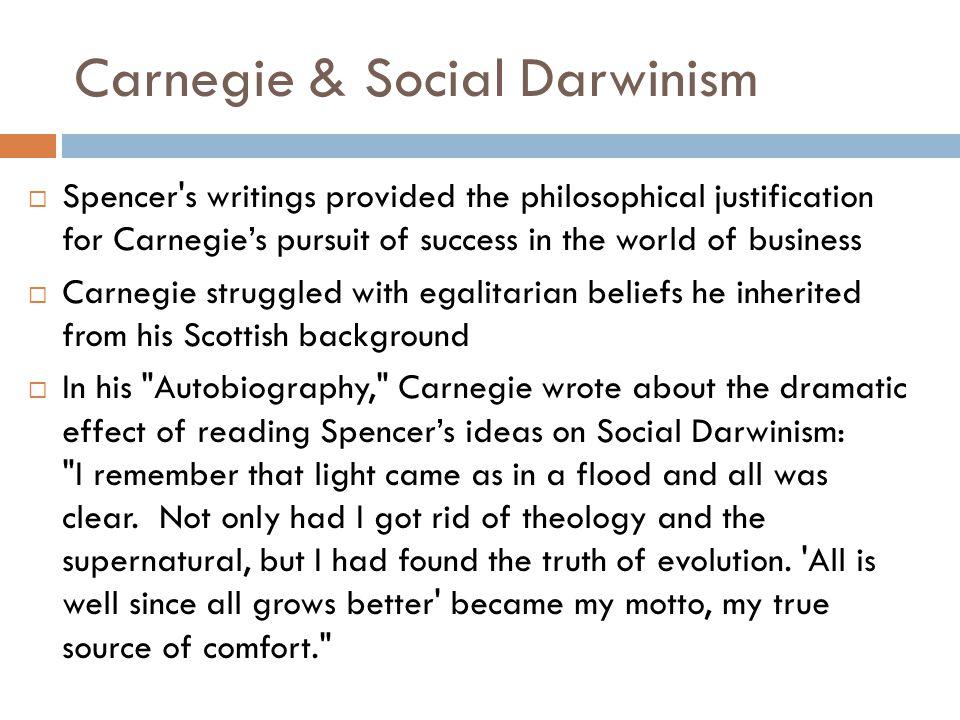 herbert spencer social darwinism summary