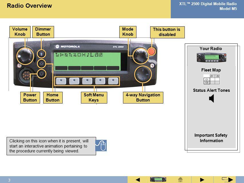 Xtl 2500 basic service manual youtube.