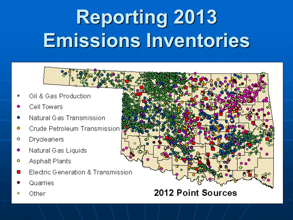 Reporting 2013 Emissions Inventories