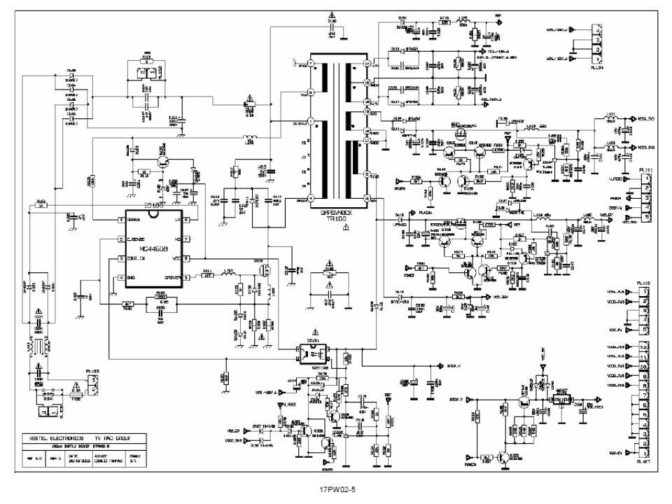 Plasma Television Vif Amplifier Tuner And Vif Agc Vif Agc