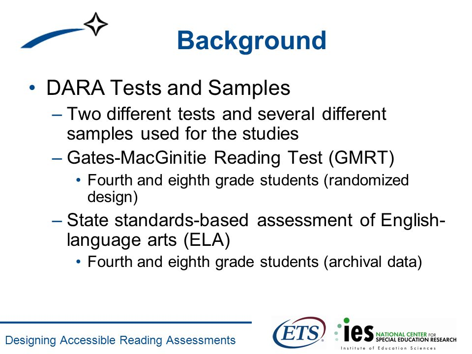 designing accessible reading assessments reading aloud tests of rh slideplayer com