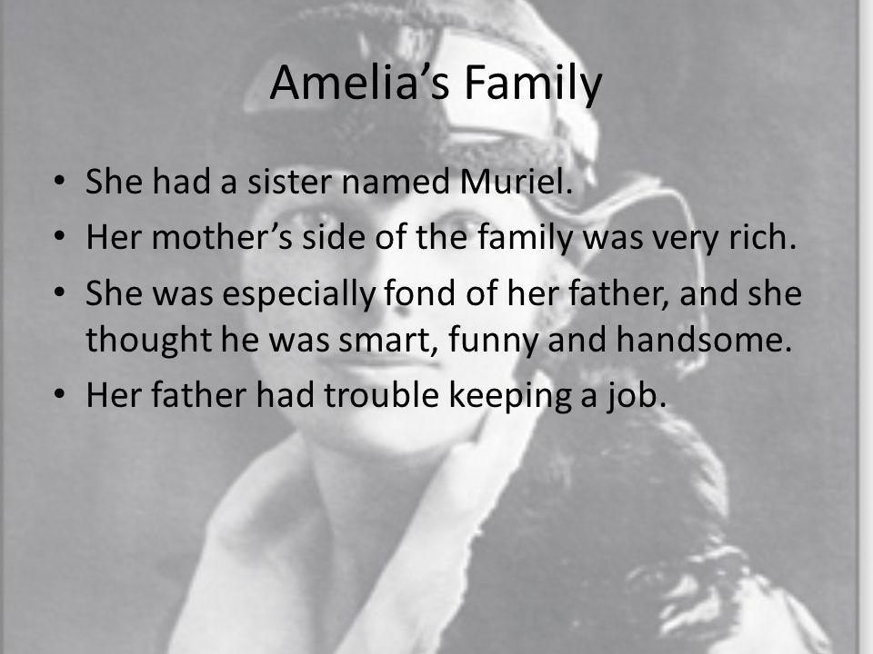 Amelia earhart family life