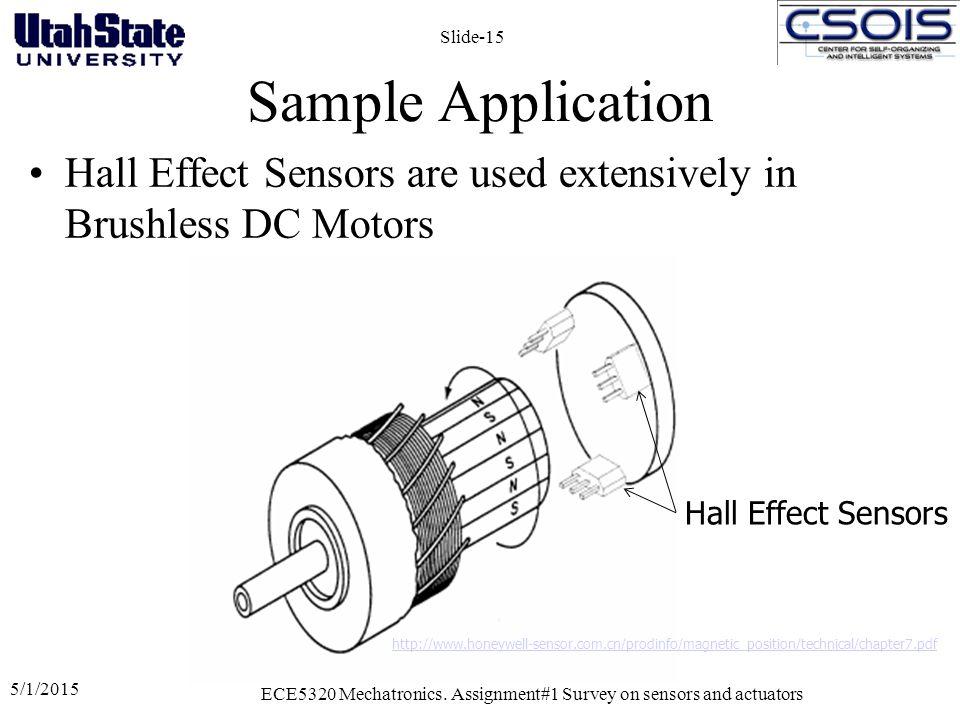 Assignment#01: Literature Survey on Sensors and Actuators ECE5320