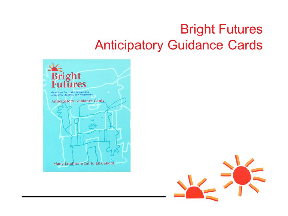 Bright Futures Anticipatory Guidance Cards