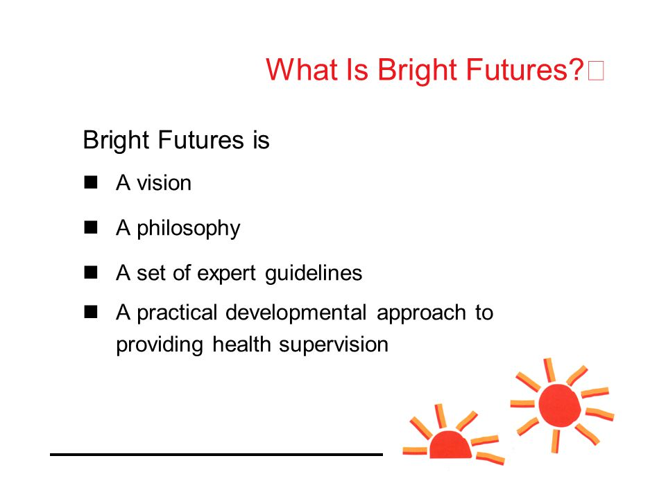 What Is Bright Futures.
