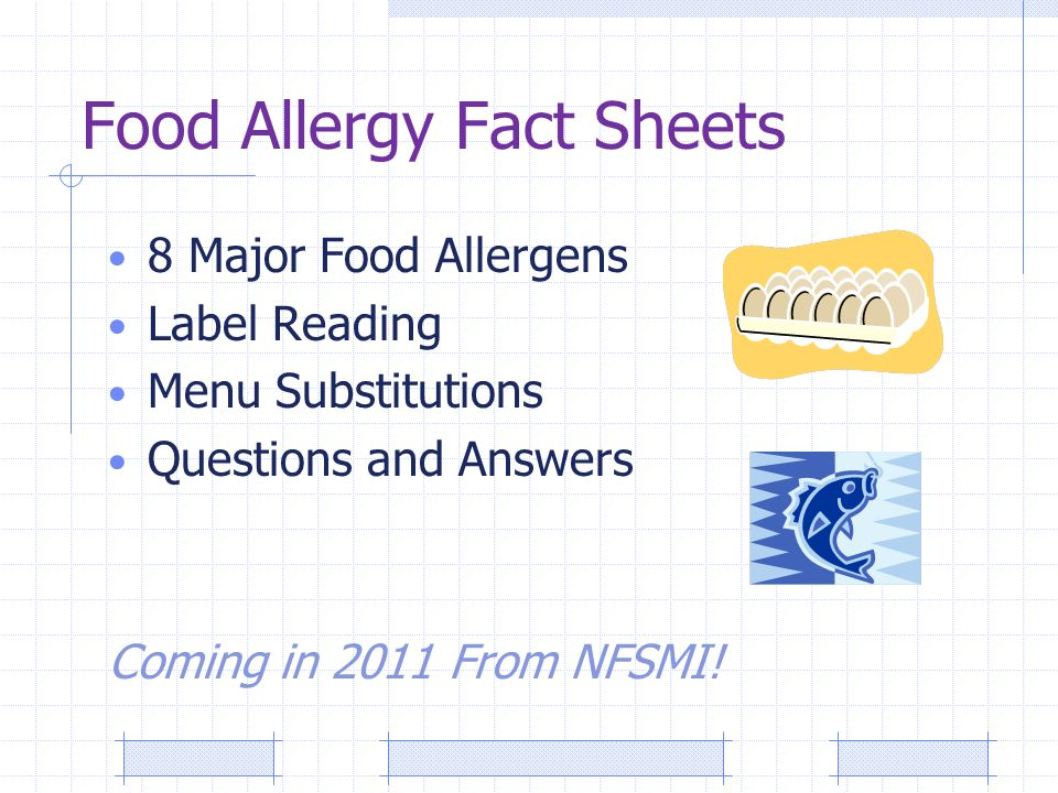 A Blueprint for Handling Food Allergies Julie Skolmowski