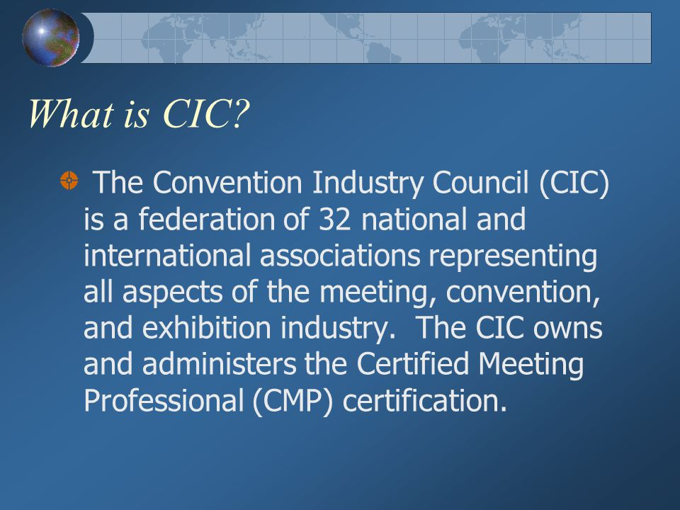 The Certified Meeting Professional Cmp Process Ppt Download
