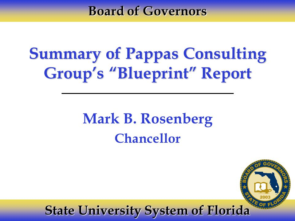 Summary of pappas consulting groups blueprint report mark b summary of pappas consulting groups blueprint report mark b malvernweather Choice Image