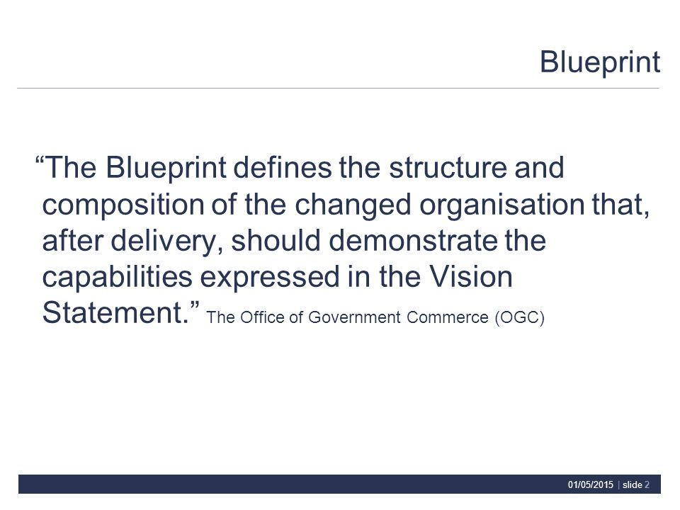 01052015 slide 1 programme value chain vision outcomes 2 malvernweather Choice Image