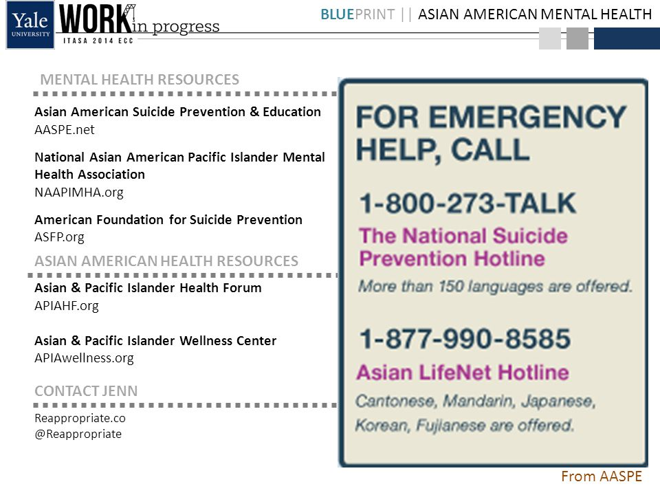 Blueprint Asian American Mental Health Struggling In Silence