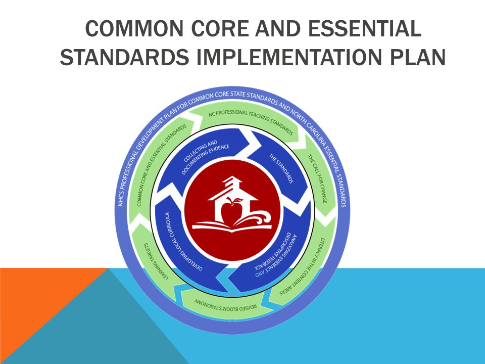 COMMON CORE AND ESSENTIAL STANDARDS IMPLEMENTATION PLAN