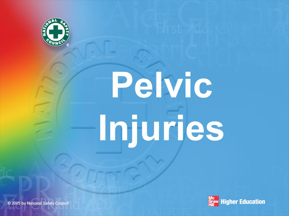 © 2005 by National Safety Council Pelvic Injuries