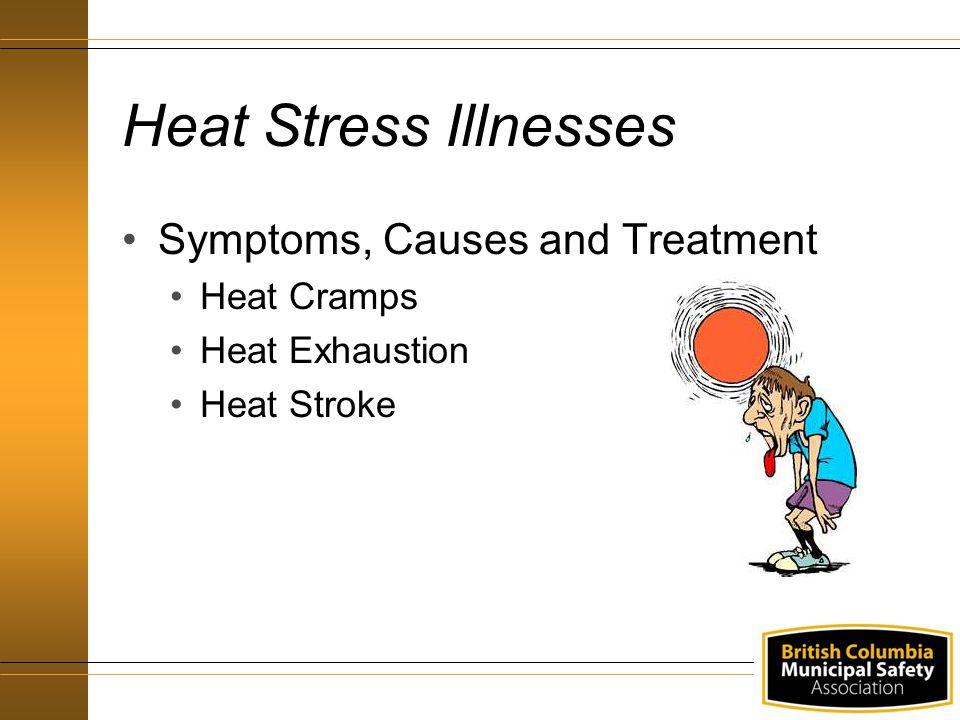Heat Stress  Agenda Definitions Regulation Responsibilities