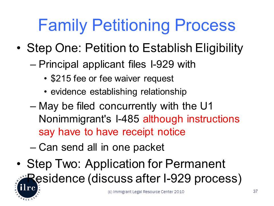 Assisting Family Members Through The U Nonimmigrant Status Process