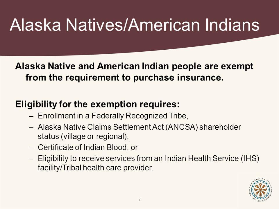 Deep Dive: Indian Exemption Alaska Primary Care Association Alaska ...