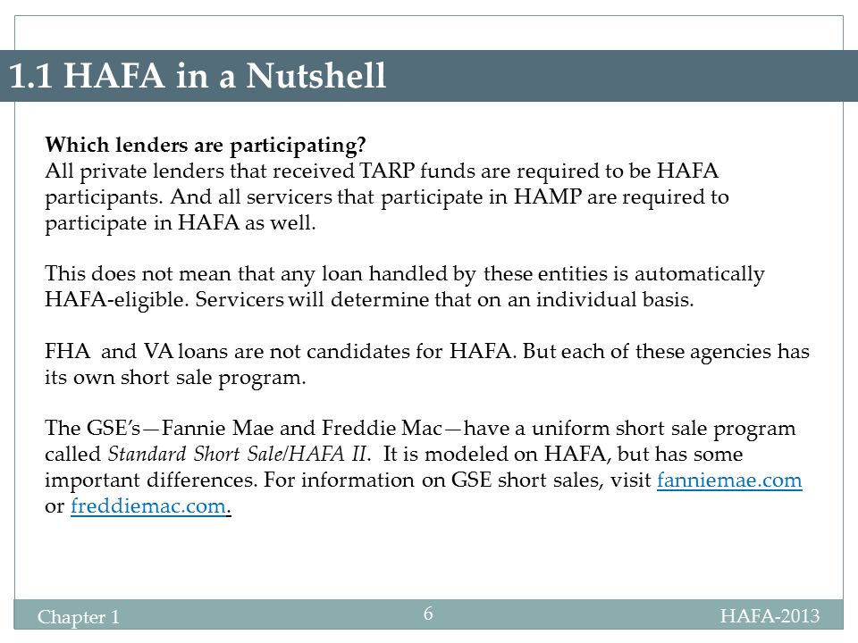 Hafa 2013 Chapter 1 1 Chapter 1 Hafa Defined As Its Name Suggests