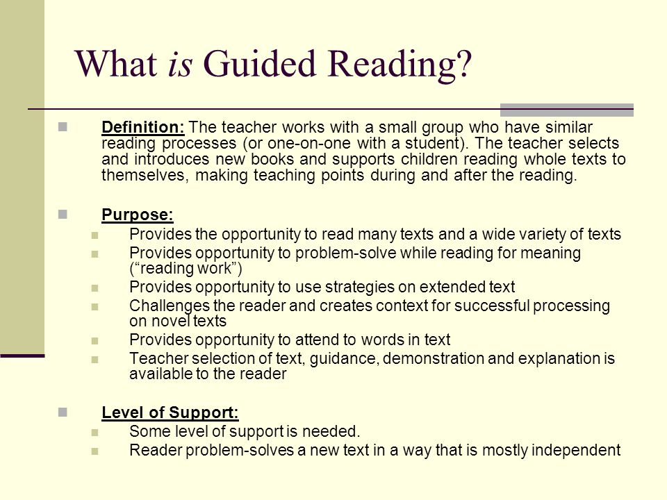 Guided reading ppt.