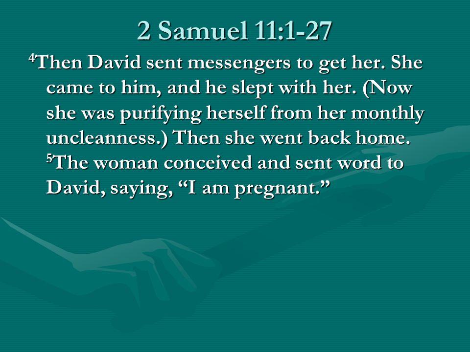 David's Sin with Bathsheba: 2 Samuel 11:1-27 Forest Hills Bible