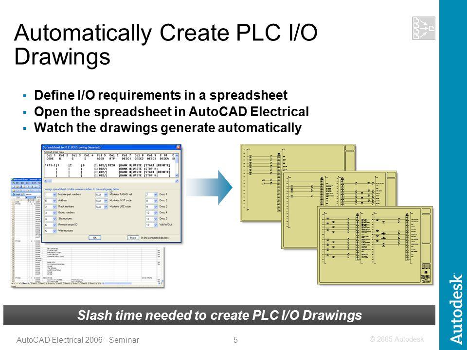 1 AutoCAD Electrical Seminar Advanced Micro Systems, Inc