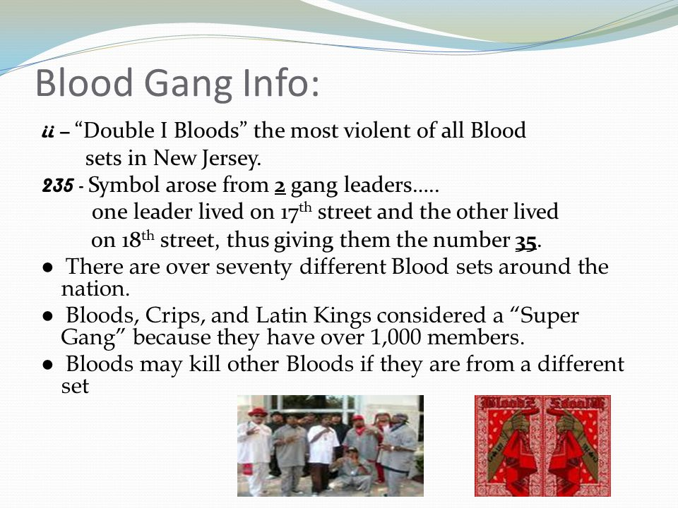 Presentation Given By Det Javier Castellanos Passaic County Gang