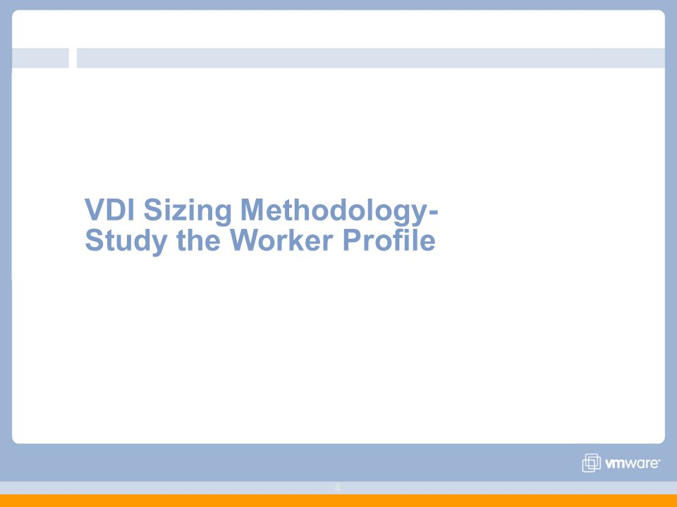 View Sizing and Best Practices  22 From 33 Agenda 1  VDI
