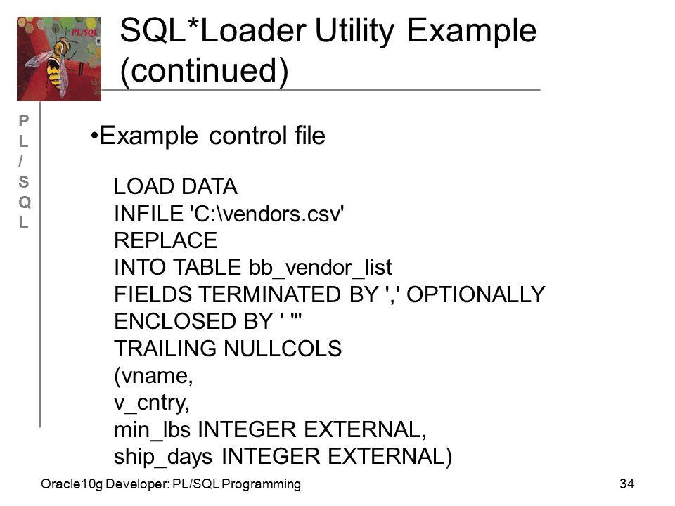 Sql*loader | dibyajyoti koch:a blog on oracle application.