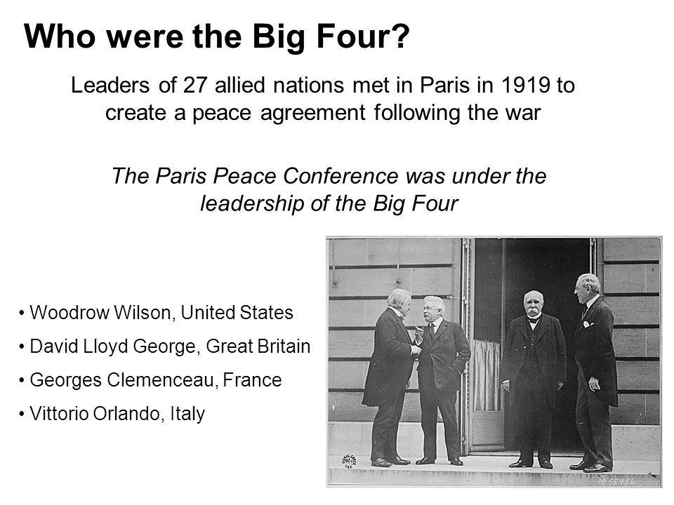 Who were the Big Four.