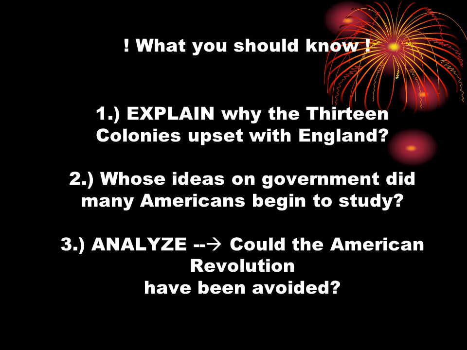 could the american revolution been avoided