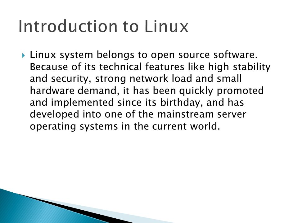  Linux system belongs to open source software.