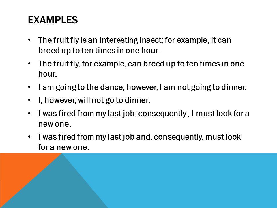 Semicoloncolon Rules Semicolonsrule 1 Use A Semicolon Between