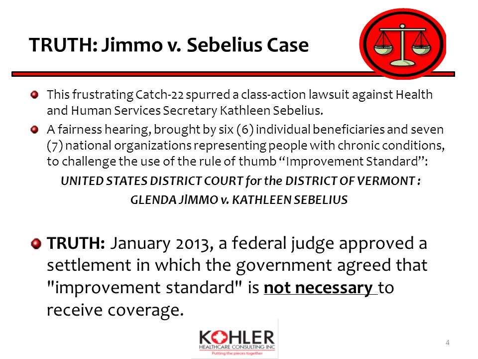 Jimmo vs Sebelius | Medical Billing