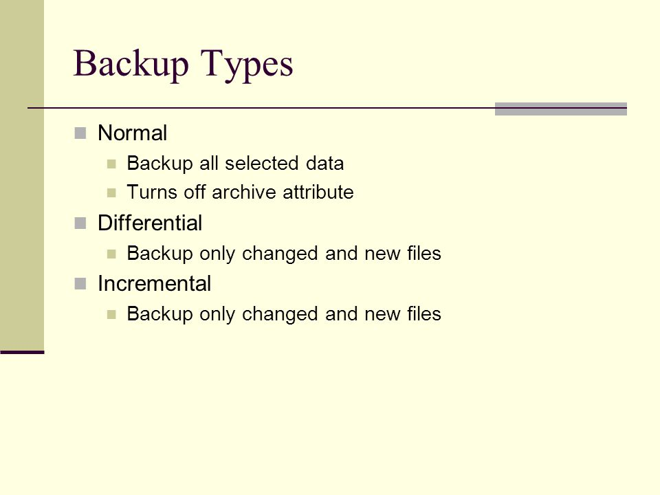 Backing Up a Hard Disk CGS2564  Why Backup Programs? Faster