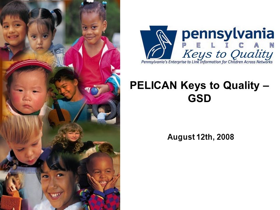 PELICAN Keys to Quality – GSD August 12th, 2008
