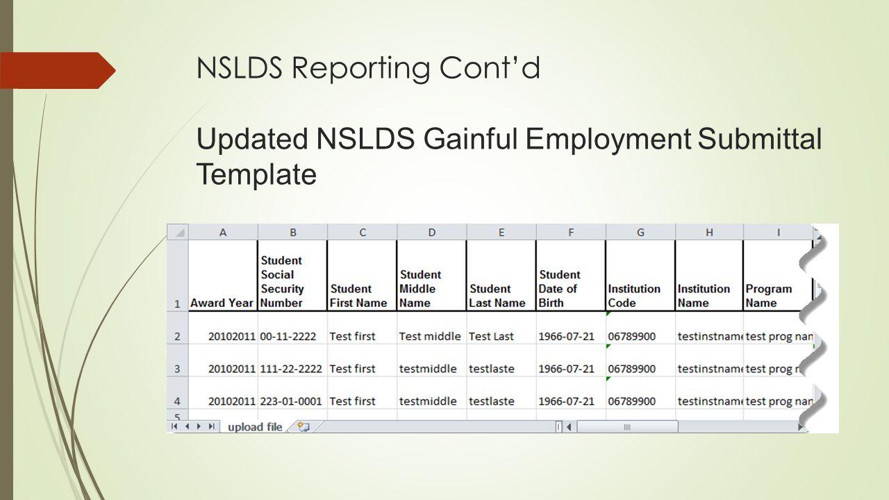 Gainful Employment Neasfaa 2015 Spring Conference Vicki Kucera