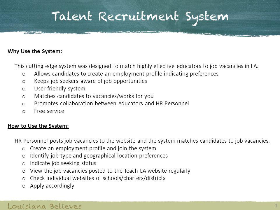 Match employment website