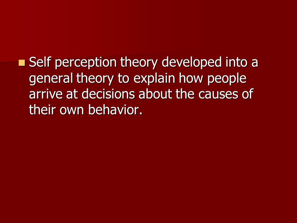 4 self perception