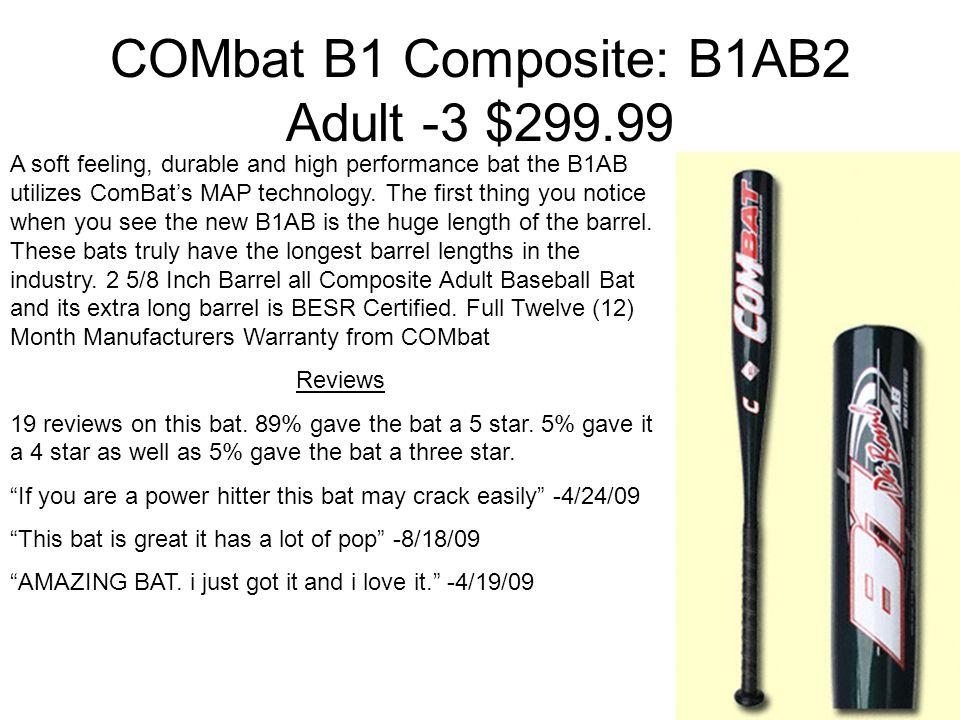 Baseball Bat Comparison Adam Reeder  Nike 2010 Aero Fuse -3