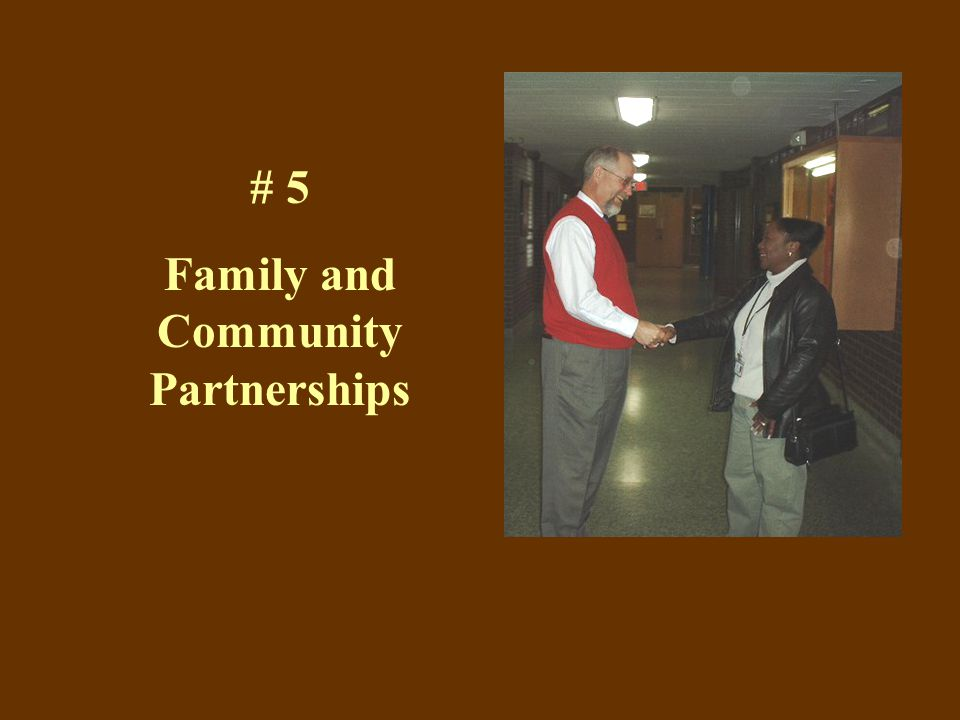 # 5 Family and Community Partnerships