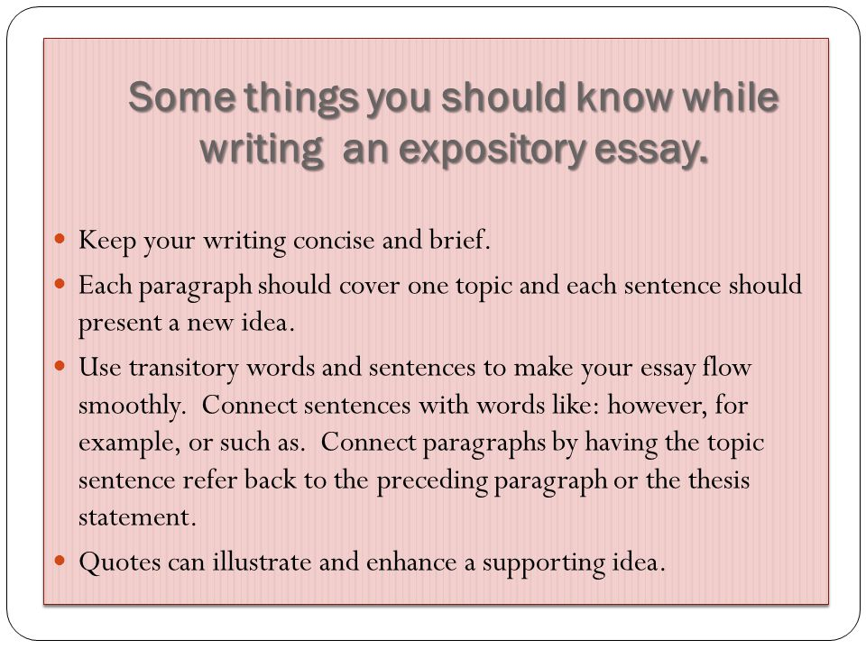 Keep your writing concise and brief.