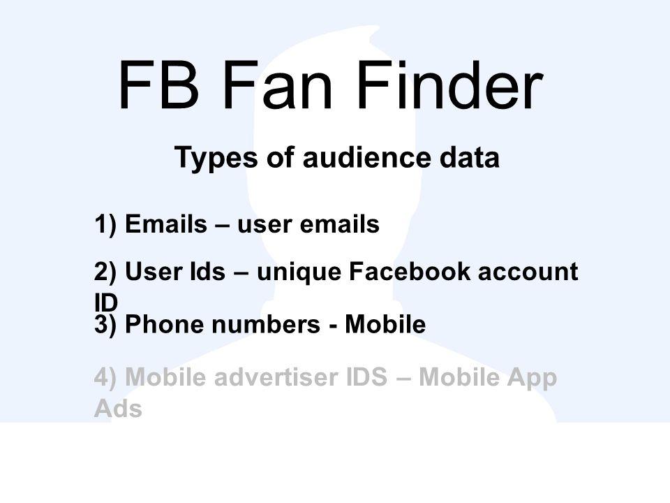 Facebook login id finder  Identifying Facebook Messenger