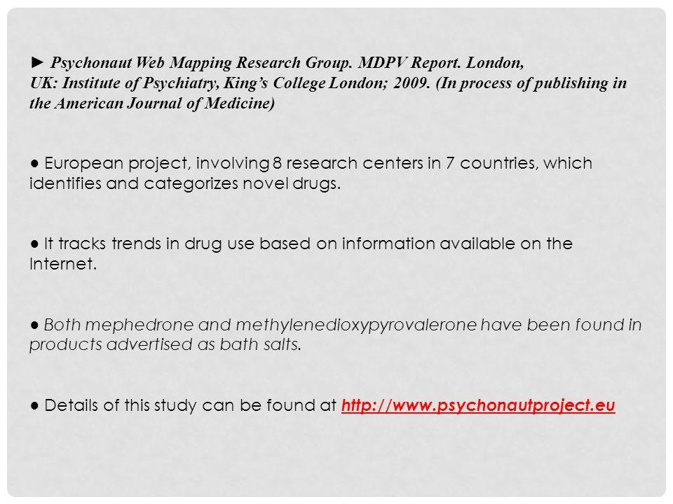 """Bath Salts"""": New Legal Designer Drug Sept, Presenter"""
