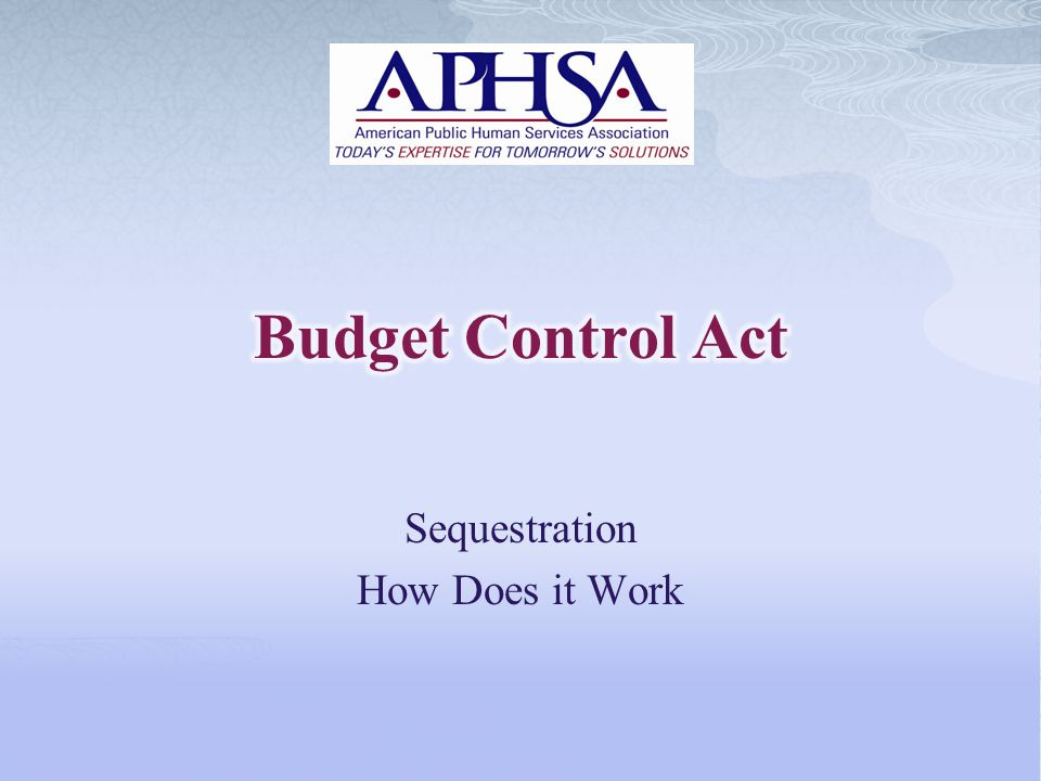 Sequestration How Does it Work