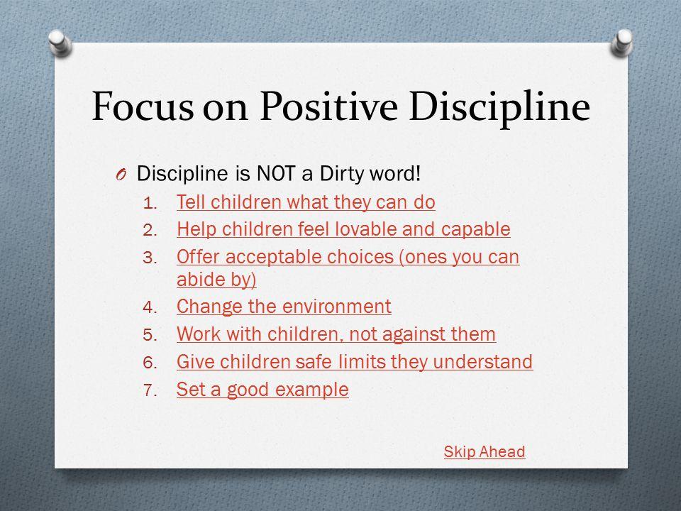 short speech on discipline