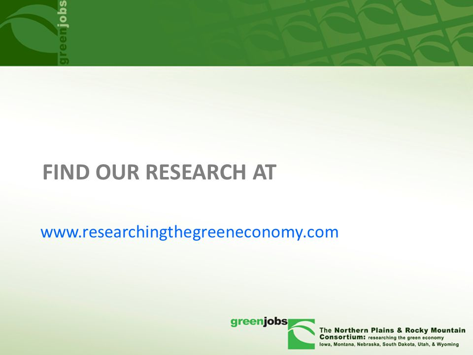 FIND OUR RESEARCH AT